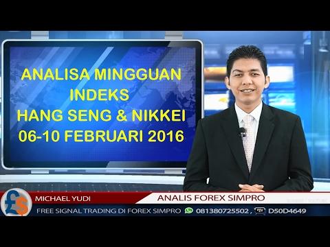 Analisa Indeks Hang Seng dan Nikkei 6–10 Februari 2017