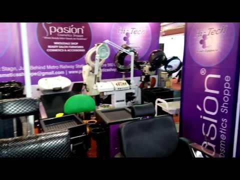 Beauty expo Bangalore with Pasion cosmetics shoppe...