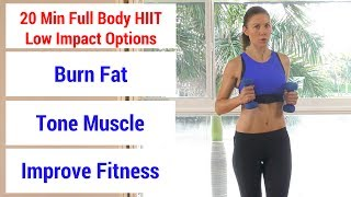 HIIT #48: 20 minute full body HIIT workout to burn fat, build muscle, & increase fitness
