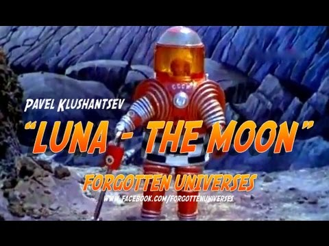 The Moon  ЛУНА 1965restored color - П Клушанцев