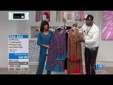HSN | Antthony Design Original Fashions Celebration 06.25.2017 - 04 PM