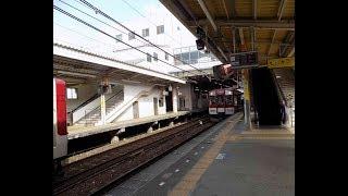 <列車の車窓から>鳥羽駅から普通列車で後方から見える景色を撮影20180331