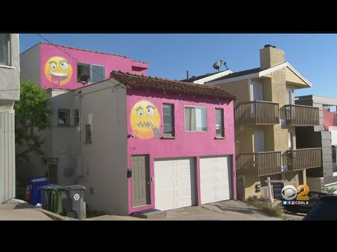 Jason Hurst - Owner Of Emoji House In California Beach Community Puts It Up For Sale