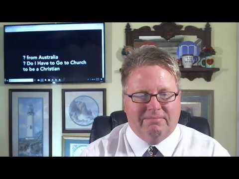 ? Do I Have to Go to Church to Be a Christian - DrDaveBurnette.com