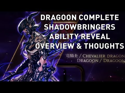 FFXIV: Dragoon COMPLETE Shadowbringers Ability Reveal Overview & Thoughts