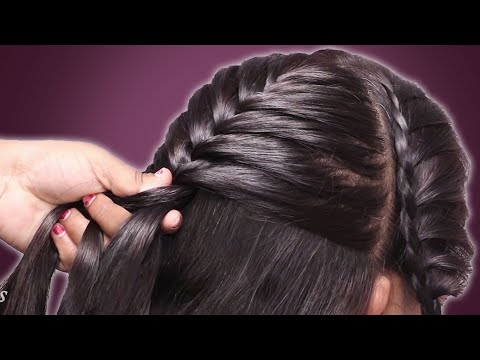 fish-braid-hairstyle-for-work/college/party-||-hair-style-girl-||-trendy-hairstyles-#hairstyle