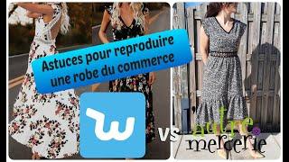 Reproduire une robe du commerce