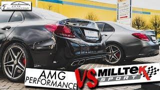 Zapętlaj C63 AMG PERFORMANCE ABGASANLAGE vs MILLTEK EXHAUST SOUND | Cete Automotive | Cete Automotive GmbH