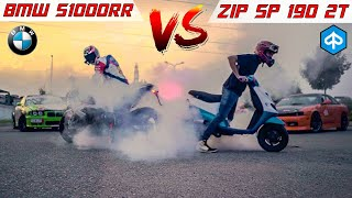 DRAG RACE BMW S1000RR 2019 VS ZIP 190 DUE TEMPI!🚀