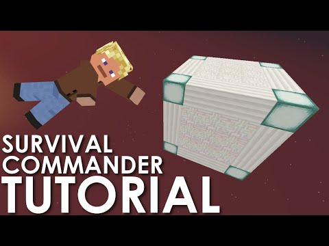 Minecraft: Survival Commander Box Tutorial