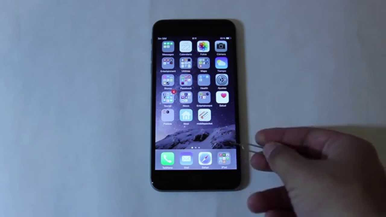 How To Get Sim Card Out Of Iphone