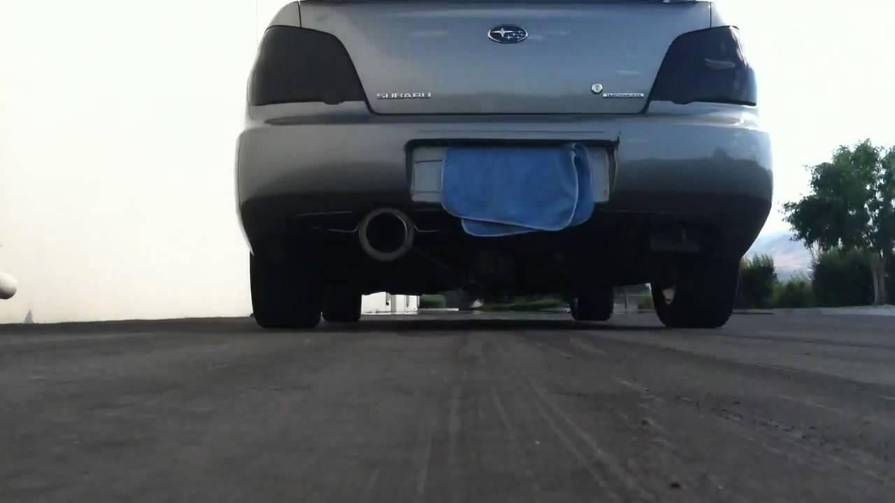 2007 Subaru Impreza 2 5i Exhaust And Intake Youtube