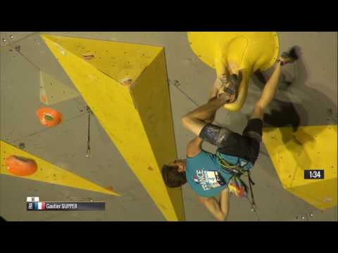 IFSC Climbing World Cup Briançon 2015   Lead   Finals   Male   Gautier Supper mp4