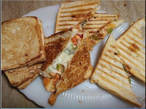 Bread Pizza Recipe by hamida dehlvi
