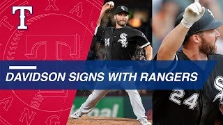 Matt Davidson agrees to Minor League deal with the Rangers