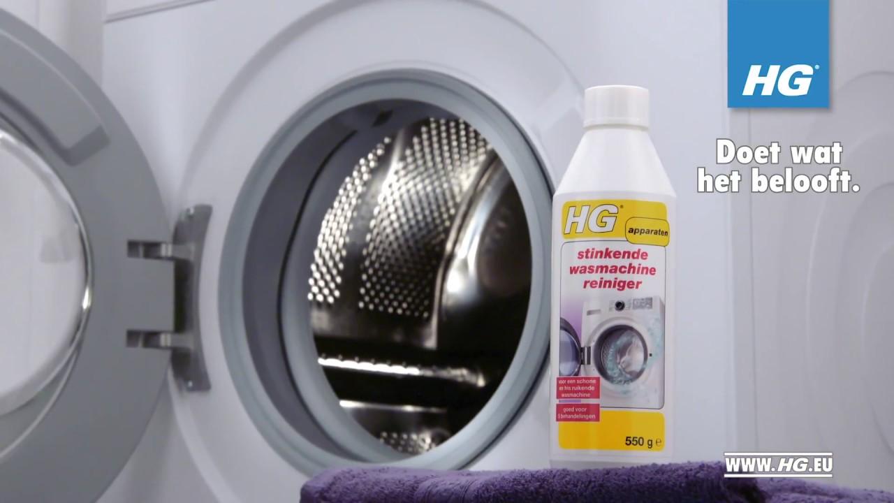 Beroemd HG stinkende wasmachine reiniger - voor een weer heerlijk fris XY23