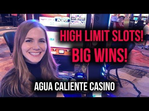 High Limit Gambling And HUGE Wins At Agua Caliente Casino! #Ad