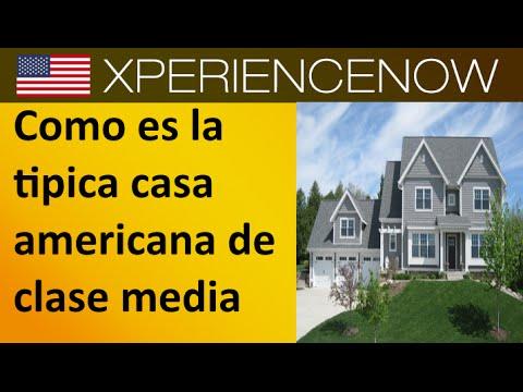 Como es la tipica casa americana de clase media youtube - Casas americanas por dentro ...