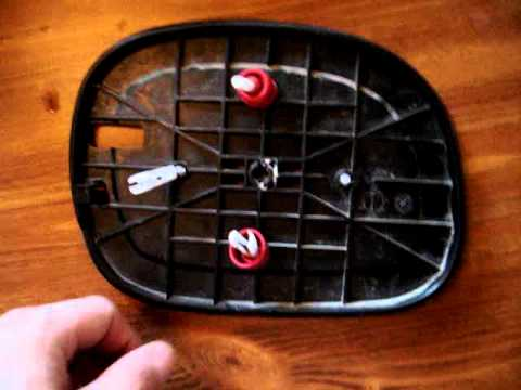 2001 Ext F 150 Driver Side Mirror Assembly Youtube