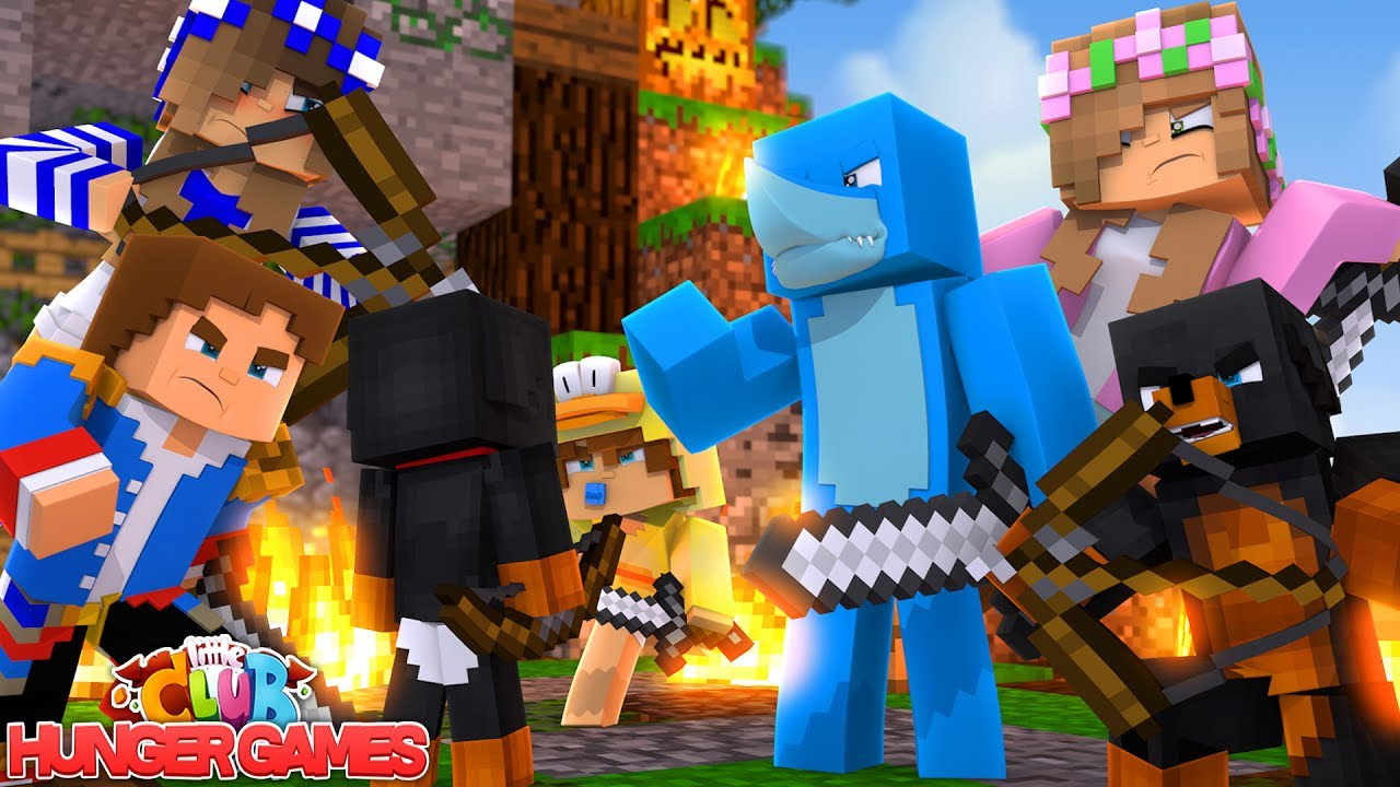 The little club group battle minecraft hunger games - The little club ...