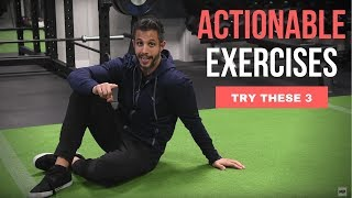 How to Fix Anterior Pelvic Tilt (BECAUSE SIT HAPPENS!)   MIND PUMP