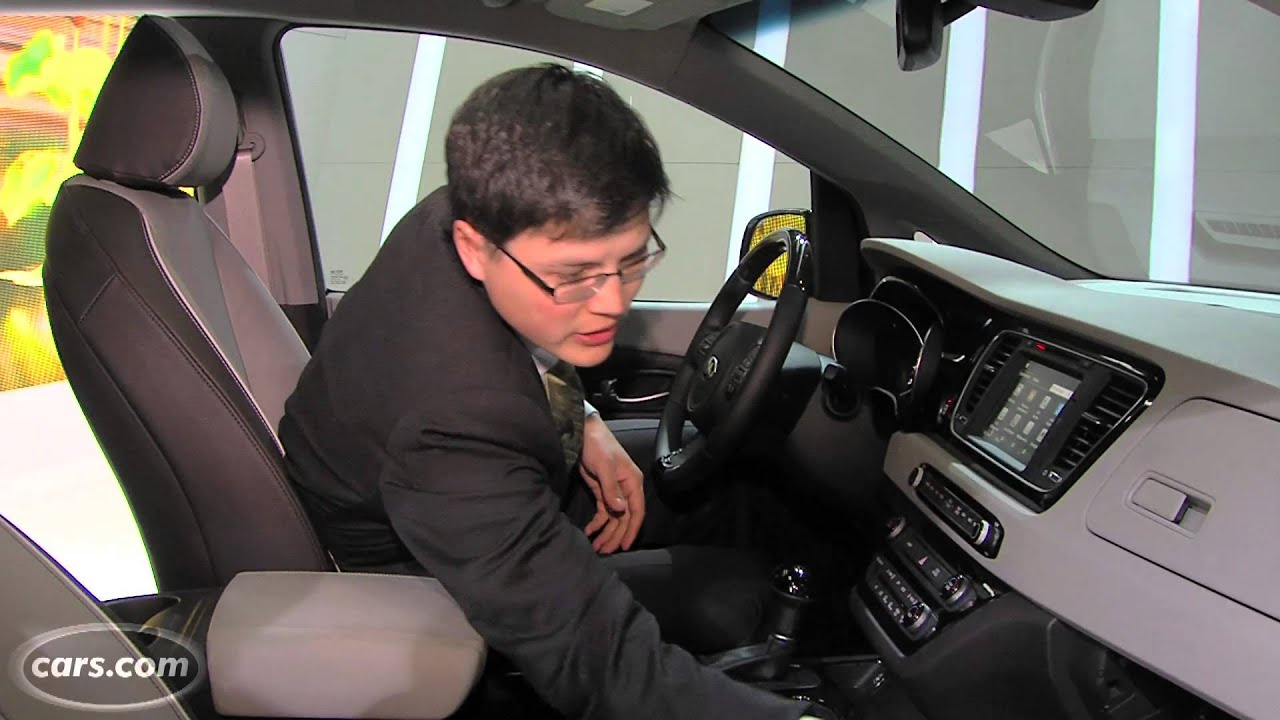 2015 Kia Sedona   First Look   YouTube