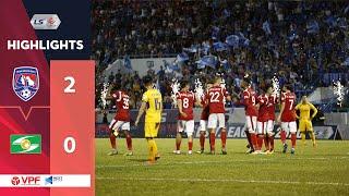 Highlights | Than Quảng Ninh - Sông Lam Nghệ An | Jermie Lynch gieo sầu cho đội bóng cũ | VPF Media