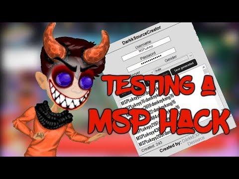 TESTING DårkkEXPLOIT'S MSP HACK (IT WORKED!!!) || MSPLukeyy