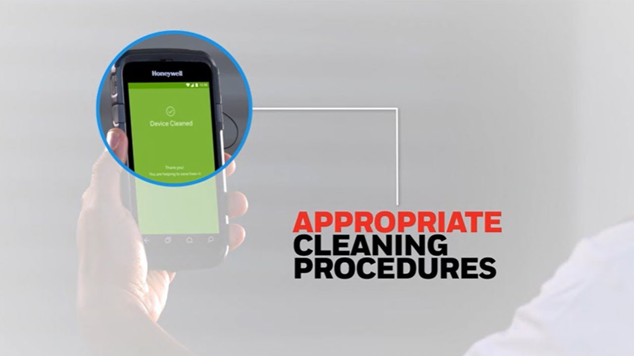 Honeywell Operational Intelligence Cleaning Manager with Disinfectant Ready Devices