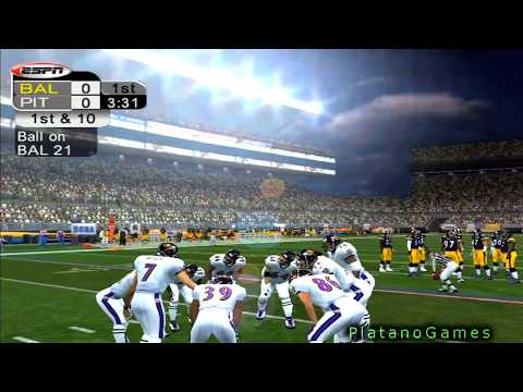 NFL 2012 SNF Week 11 - Baltimore Ravens (7-2) vs Pittsburgh Steelers (6-3) - 1st Half - NFL 2K5 - HD