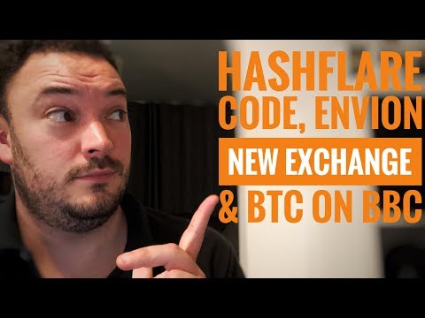 Hashflare discount code,  Envion on a new change and bitcoin on the BBC.