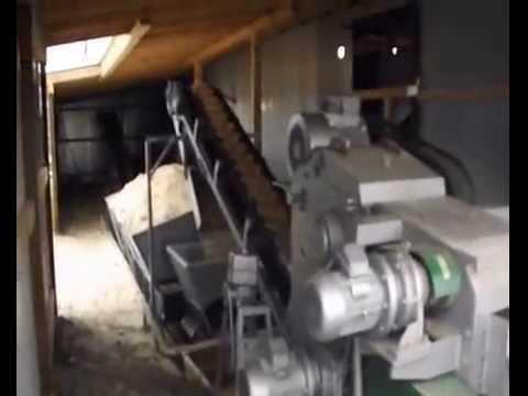 Производство пеллет из