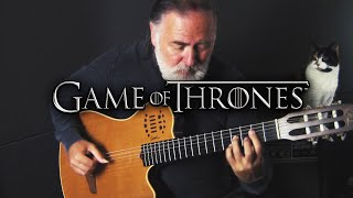 Game of Thrones - Main Theme - fingersyle guitar cover