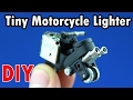 How to Make a Tiny Mtorcycle from Lighters - Easy