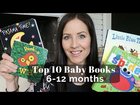 Top 10 Baby Books for 6-12 Months | BABY BOARD BOOKS �� | LINDSEYDELIGHT