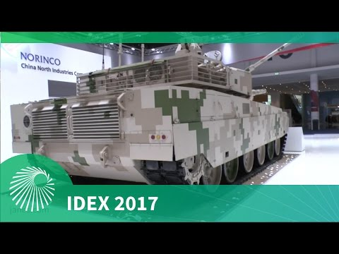 IDEX 2017: Chinese VT4 - Show debut