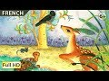 The Four Friends: Learn French with subtitles - Story for Children