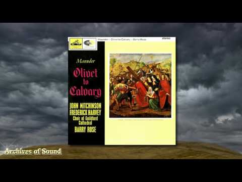 """""""Olivet to Calvary"""" (John Maunder) LP 1964 - Guildford Cathedral Choir (Barry Rose)"""