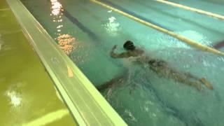 Style1水泳動画 ストップ&ゴー スプリント練習のひとつです 5m、1...