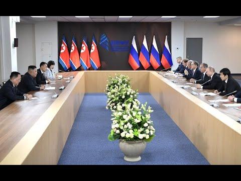 اختتام القمة التاريخية بين بوتين وكيم  - نشر قبل 2 ساعة