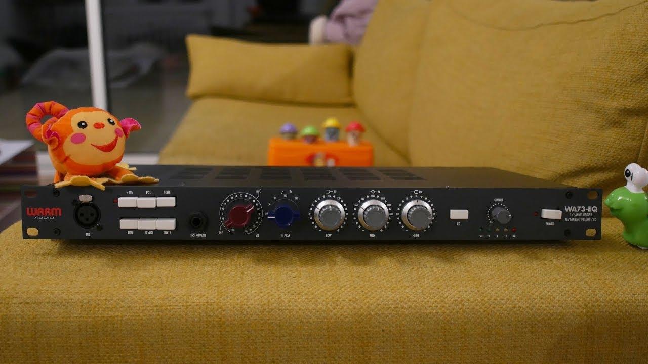 Warm Audio WA-73EQ : Premières Impressions