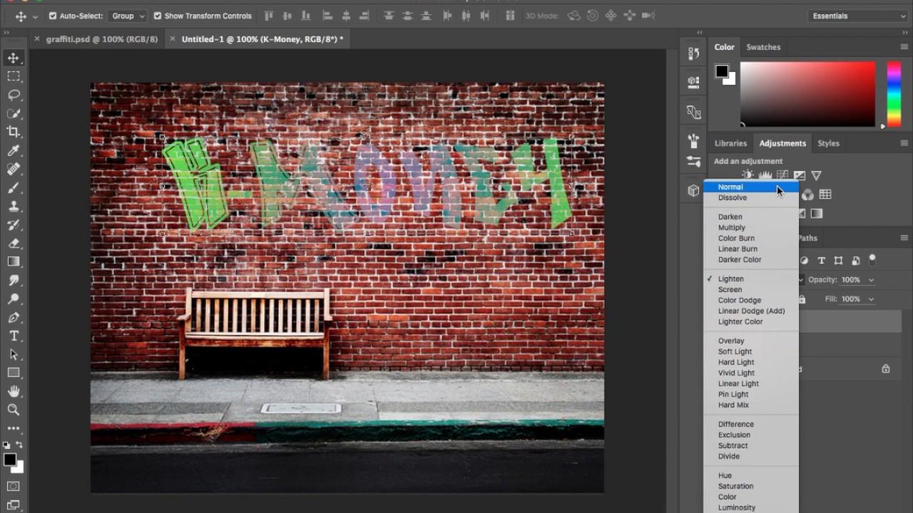 Digital graffiti font tutorial photoshop cc