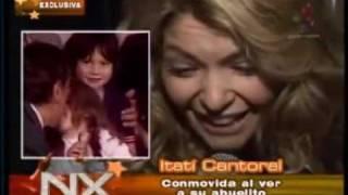 Itatí Cantoral Muy Pequeñita Por Primera Vez En television.