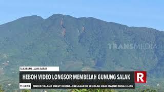 Heboh Video Gunung Salak Terbelah | REDAKSI SIANG (24/09/20)