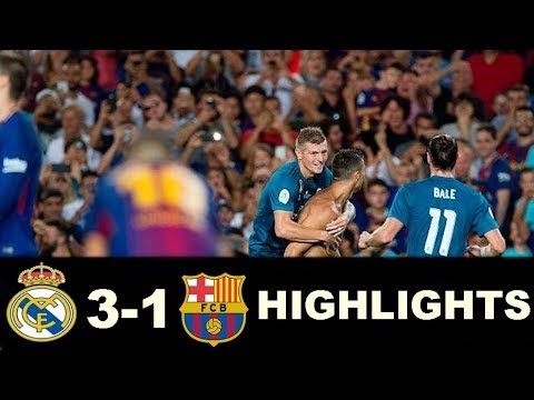 Download Barcelona vs Real Madrid 1-3 - All Goals & Extended Highlights -Super Cup 13/08/2017