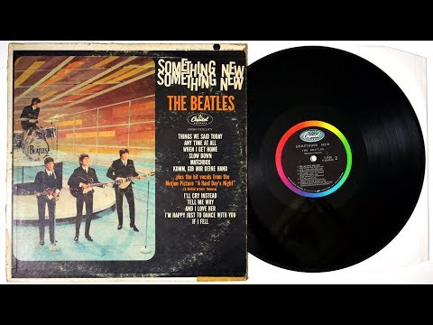 The Beatles - Something New - Vinyl Unboxing The Beatles