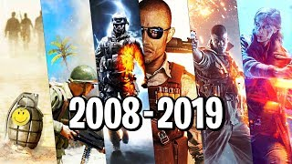 Playing EVERY Battlefield Game in one video... 2019