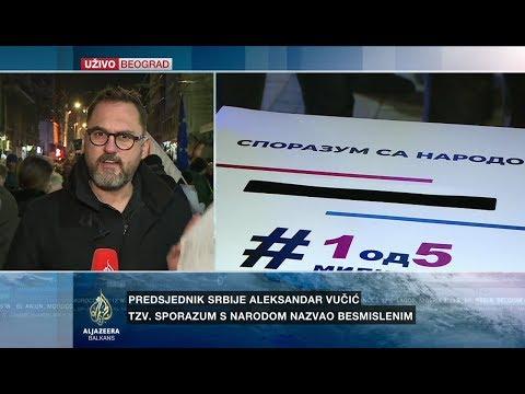 Subotić o protestima '1 od 5 miliona' u Beogradu