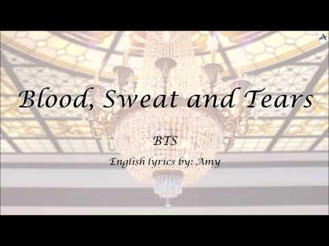 Blood, Sweat, and Tears (피 땀 눈물) - English KARAOKE (Instrumental) - BTS