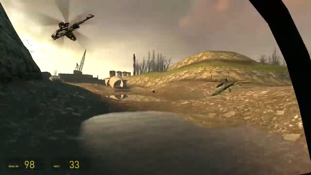 Half Life 2 Episode One Walkthrough 5 هاف لايف 2 حلقه 1